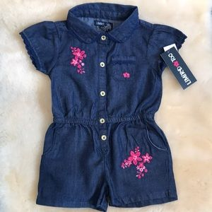 Limited Too 24M 100% Cotton Bodysuit Romper.